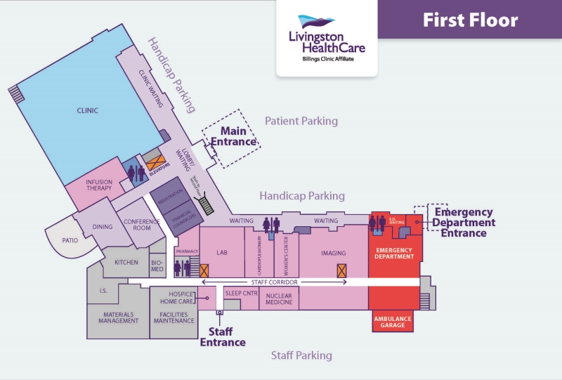 Map of new facility